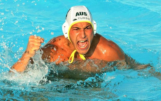 Pietro Figlioli pólo aquático olimpíadas Austrália (Foto: AFP)
