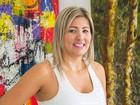 Artista plástica de Sorocaba expõe obras nos Estados Unidos