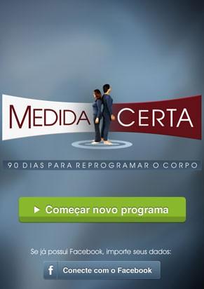 Medida Certa App (Foto: TV Globo/ Divulgação)