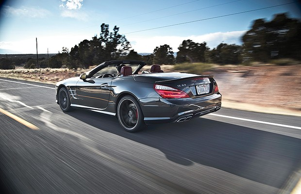Mercedes-Benz SL63 AMG (Foto: Motor Trend)