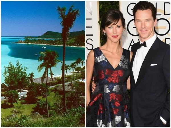 Sophie Hunter e Benedict Cumberbatch (Foto: Reprodução/Getty Images)