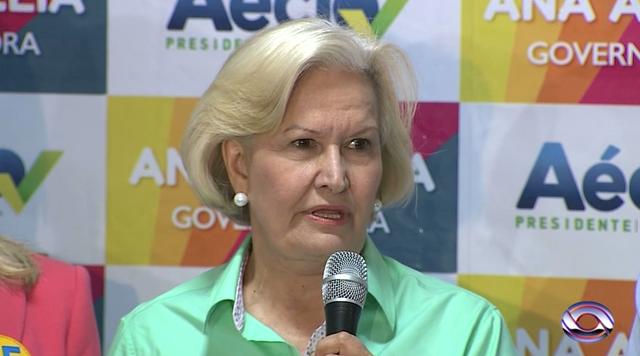 Veja a íntegra da entrevista coletiva de Ana Amélia Lemos após a apuração de votos