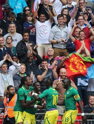 moussa konate senegal gol uruguai londres 2012 (Foto: Agência Reuters)