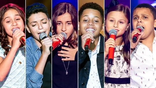 'The Voice Kids': Semifinalistas relembram segunda tarde de Shows ao Vivo