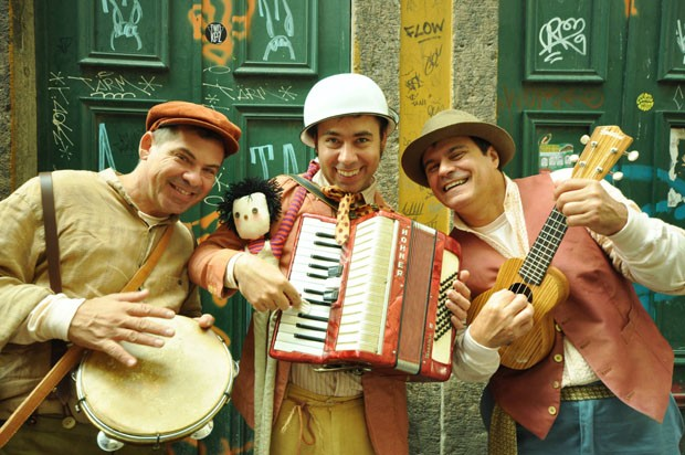 O trio formado por Lelé, Pancada e Biruta garante a diversão (Foto: Fernanda Tomaz/Divulgação)