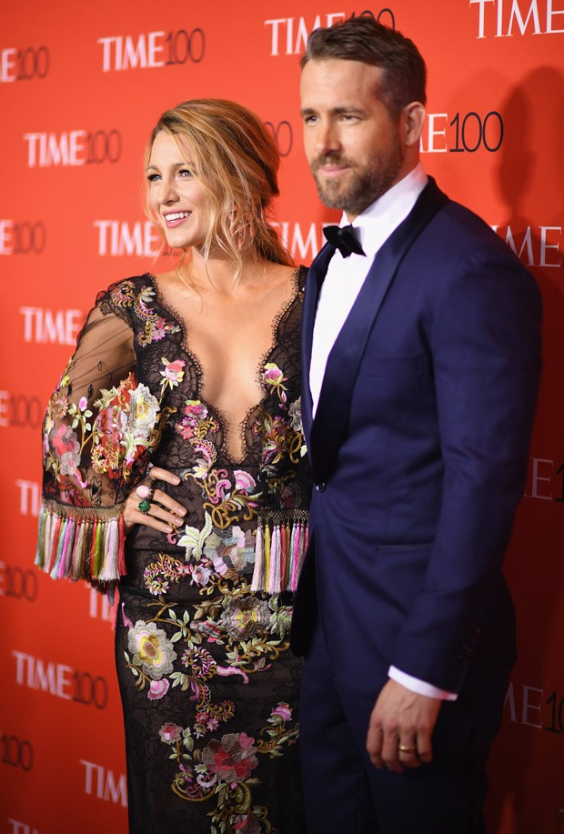 Blake Lively e Ryan Reynolds (Foto: Getty Images)