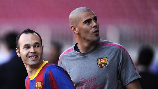 Iniesta e Valdés sobem em ranking do Barça (Foto: Site da Fifa)