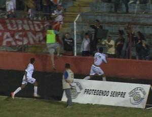 Batatais gol Série A3 (Foto: Reprodução EPTV)