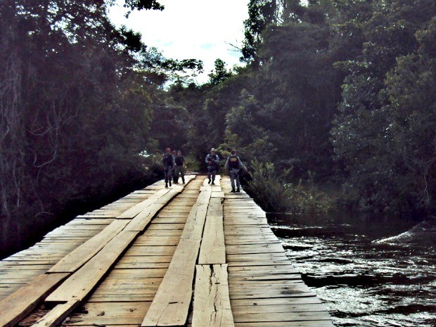 A Terra Indígena Manoki abrange mais de 206 mil hectares a oeste do Rio do Sangue e vizinha a outa terra indígena, a Irantxe (Foto: Ibama-MT/Ascom)