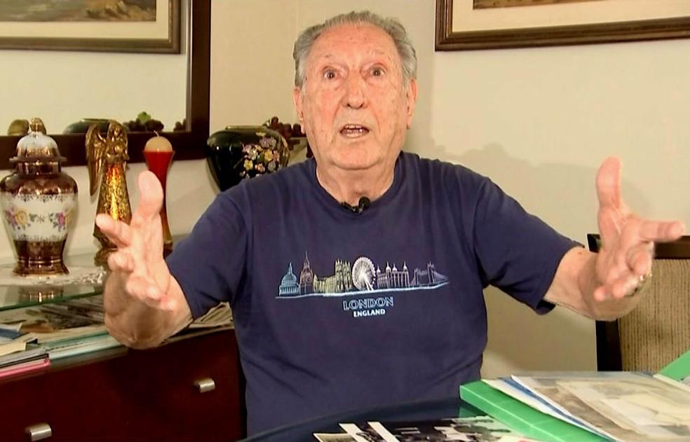 'Frangão' morreu em Bauru aos 81 anos (Foto: Reprodução/TV TEM)
