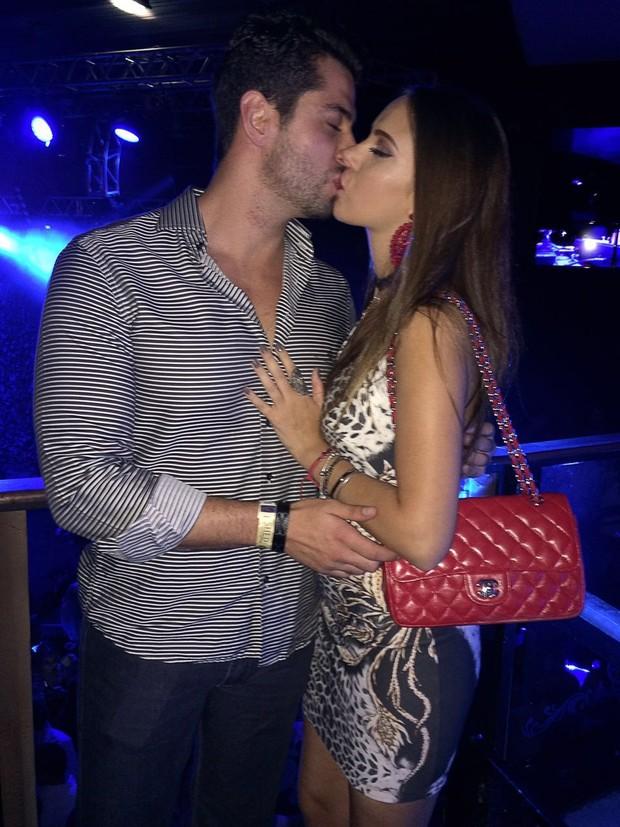 Marcelo Zagonel e a namorada (Foto: Divulgação)
