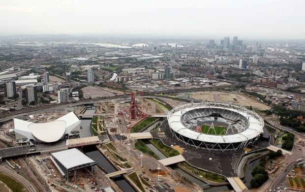 Parque Olímpico de Londres visto de cima (Foto: Getty Images)
