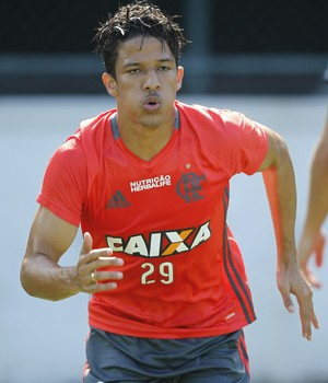 Nixon, Flamengo, treino, Gávea (Foto: Gilvan de Souza/Fla Imagem)