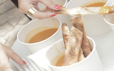 Sopa árabe de cordeiro