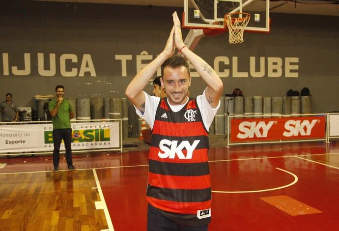 Mancuello Flamengo Paulistano NBB TIjuca Tênis Clube (Foto: Gilvan de Souza/Flamengo)