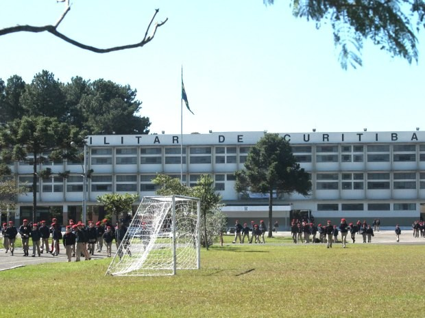Colégio Militar de Curitiba (Foto: Divulgação/Giliane Nicleviscz)