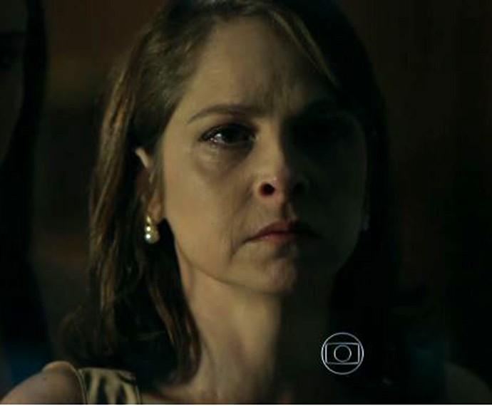 Carolina enfrenta Alex (Foto: TV Globo)