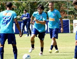 jogadores cruzeiro treino (Foto: Marco Antônio Astoni)