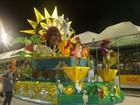 Diversidade das escolas de samba marcam 3ª noite do Carnaval no MA