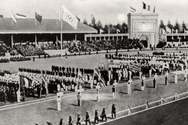 Jogos da Antuérpia, em 1920 (Foto: Getty Images)