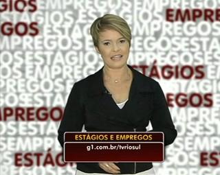 Marilene Soares mostrou as vagas dessa semana (Foto: Reprodução: Bom Dia Rio)