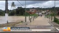 Chuva deixa famílias desalojadas em Barreiros