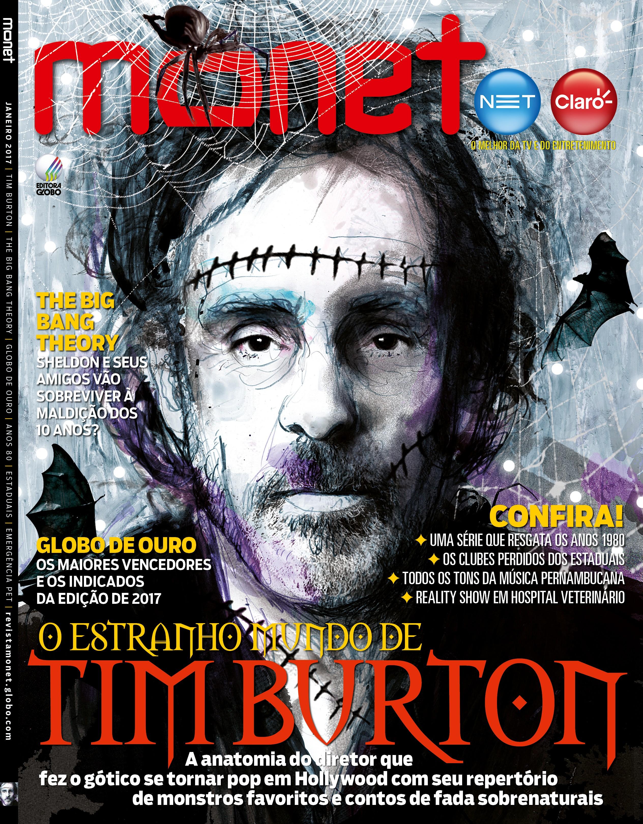 Revista Monet - Edição 166 - Janeiro/2017 (Foto: Monet)