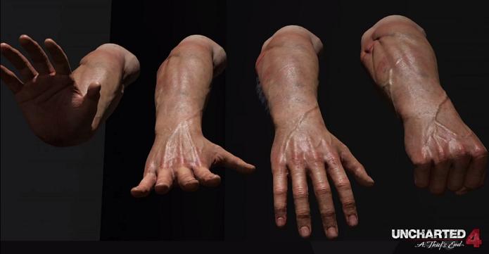 Uncharted 4 trará um Nathan Drake construído foto-realisticamente (Foto: Reprodução/YouTube)