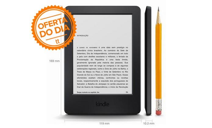 Novo Kindle passou de R$ 299 para R$ 219 em promoção de Dia das Mães (Foto: Divulgação/Amazon)
