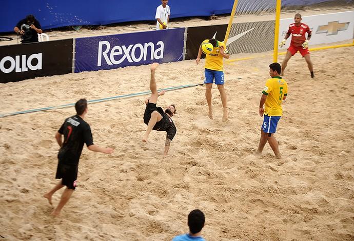 brasil x suiça copa das nações futebol de areia (Foto: Site Oficial Copa das Nações)