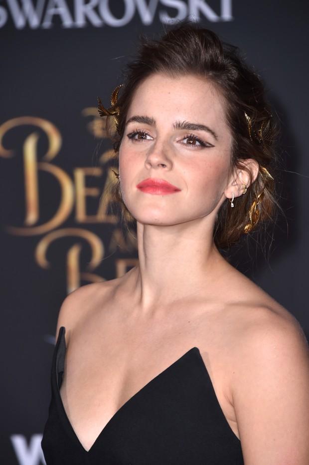 Emma Watson em première de filme em Los Angeles, nos Estados Unidos (Foto: Frazer Harrison/ Getty Images/ AFP)