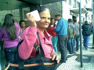 maria aparecida furtado dos santos  (Foto: Andressa Canejo/G1)