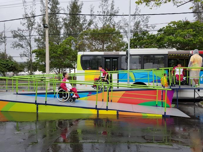Paralimpíada rampas vila (Foto: Helena Rebello)