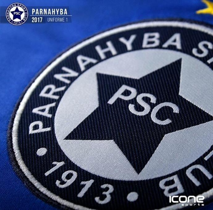 Novo Uniforme Parnahyba (Foto: Divulgação)