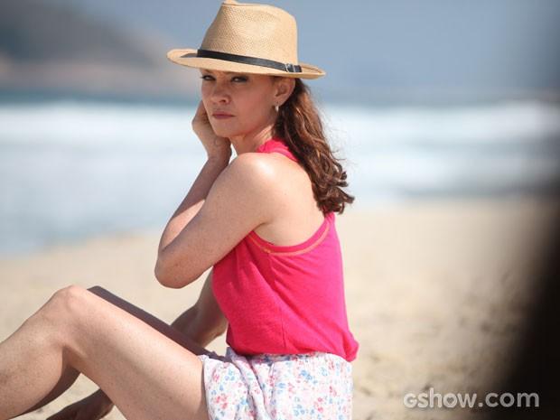 Em que Helena está pensando? (Foto: Pedro Curi/TV Globo)