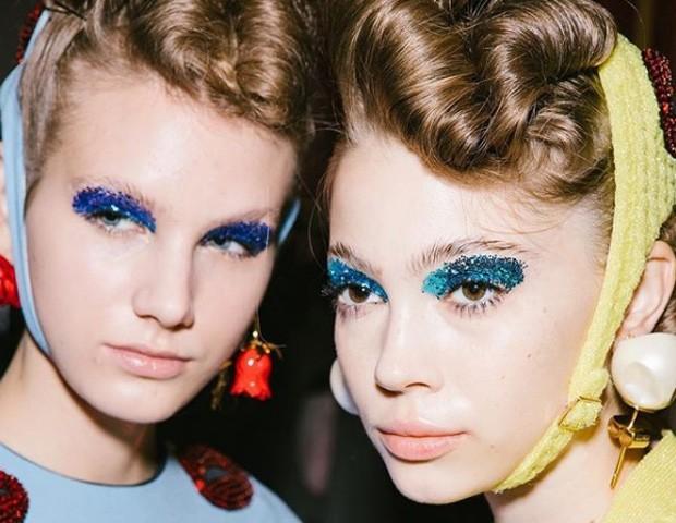 A beleza da Undercover, na Paris Fashion Week (Foto: imaxtree)