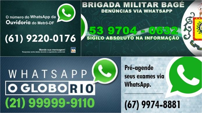 WhatsApp é usado para praticamente tudo no Brasil (Foto: Reprodução)