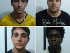 Polícia apreende em Maceió quatro sergipanos por tráfico de drogas