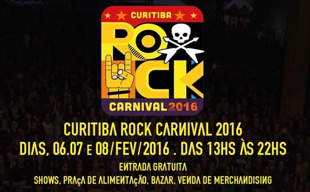 Curitiba Rock Carnival (Foto: divulgao)