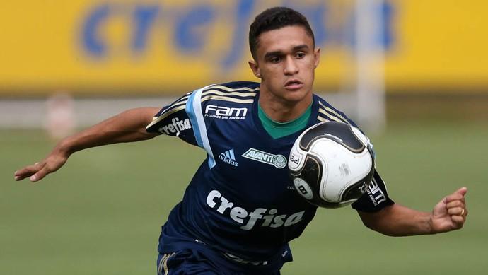 erik palmeiras treino (Foto: Cesar Greco/Ag. Palmeiras/Divulgação)