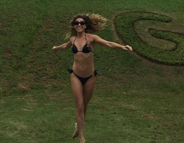 Giovanna Antonelli: feliz na chegada aos 40 anos (Foto: Reprodução/Instagram)