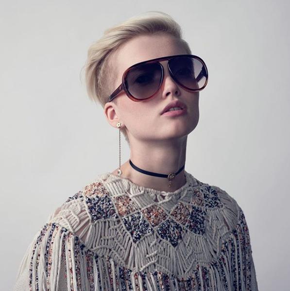 O modelo DiorLia é um dos produtos que você pode encontrar na loja de eyewear (Foto: Reprodução)