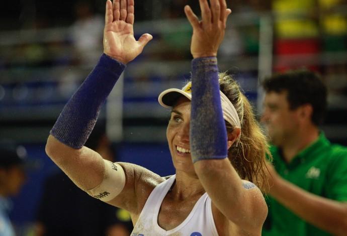 Maria Elisa comemora aniversário e ganha vitória de presente (Foto: Matheus Vidal/CBV)