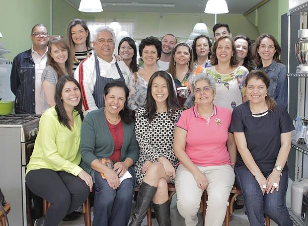 Os assinantes da Casa e Comida (Foto: Cristiane Senna/Editora Globo)