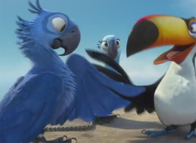 Animação 'Rio' foi lançada em 2011, pela Pixar (Foto: Reprodução/Pixar)