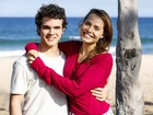 Novo casal? Letícia Colin grava cenas ao lado de Ghilherme Lobo na orla carioca