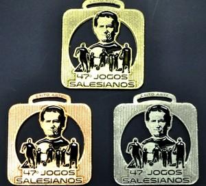 Medalhas dos Jogos Salesianos (Foto: Divulgação/Colégio Dom Bosco)