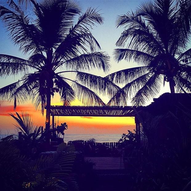 Conheça os hotéis que as celebridades escolheram para as férias (Foto: Reprodução/Instagram)