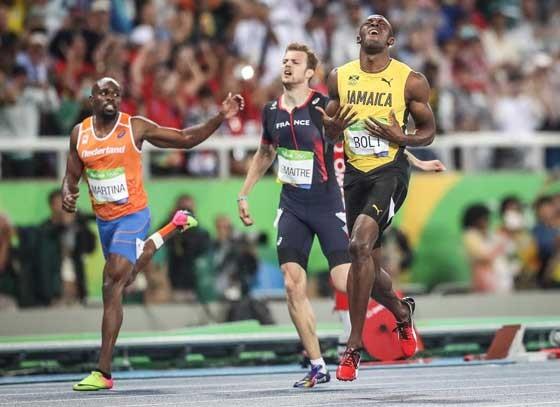 Usain Bolt vence a prova dos 200 metros rasos na Olimpíada do Rio (Foto: Ricardo Nogueira/ÉPOCA)