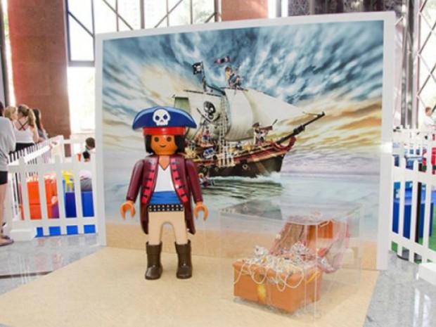 Exploção brinquedos Playmobil é atração nas férias (Foto: Divulgação)